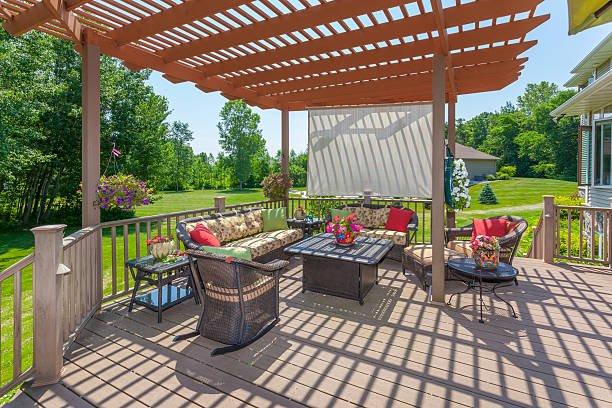 pergolas ideas for backyard