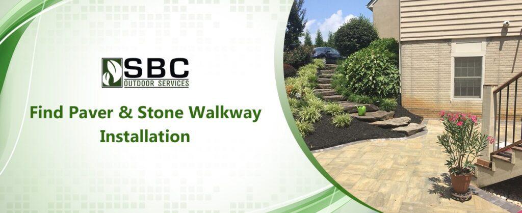 Stone Walkway Installation