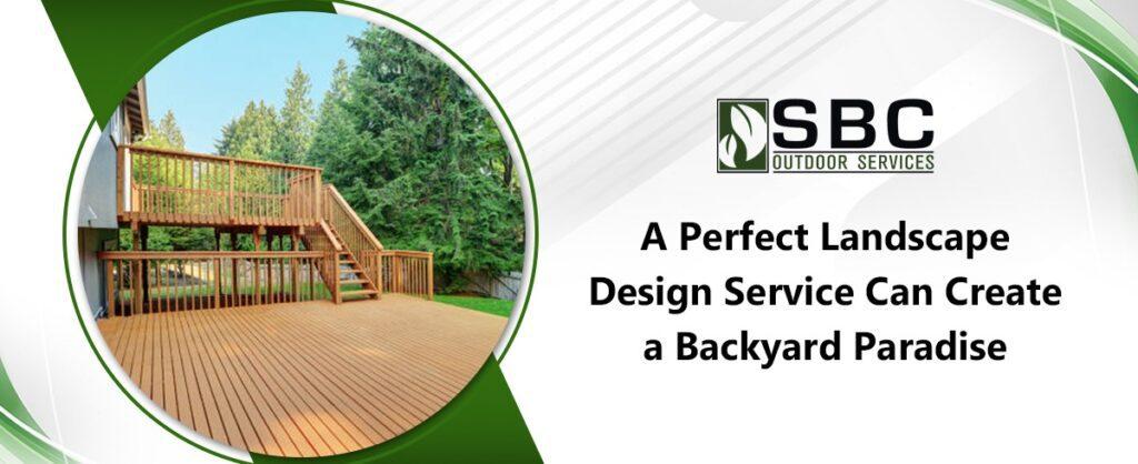 landscape design services in Baltimore